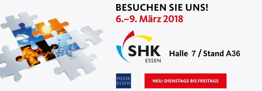 SANPRO auf der SHK 2018 in Essen