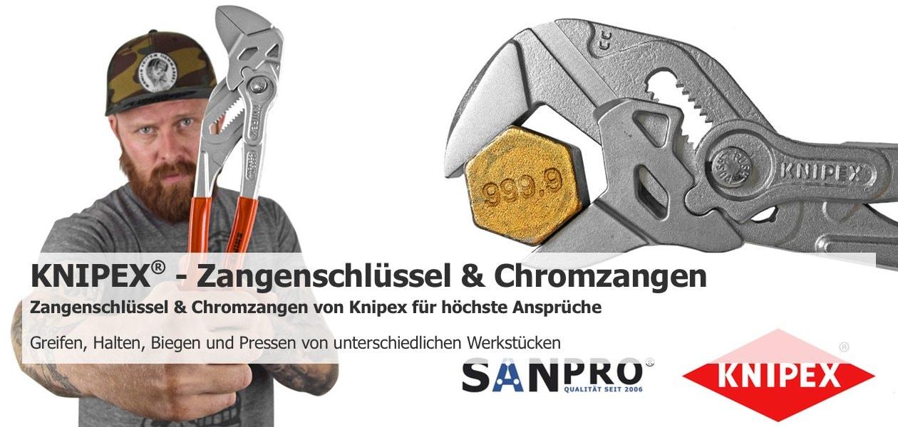 Sanpro Chromzangen Knippex