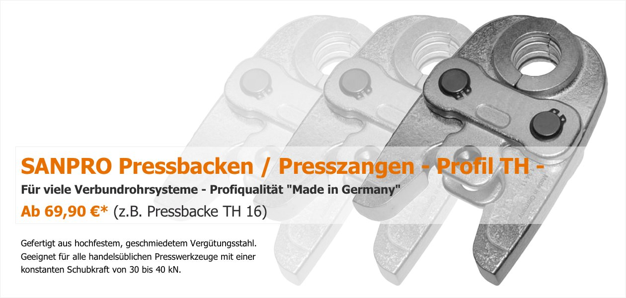 SANPRO TH Pressbacken