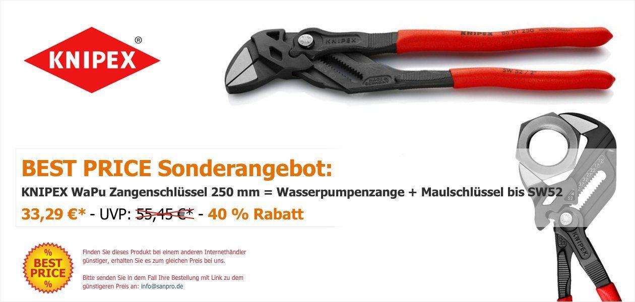Sanpro Chromzangen Knipex